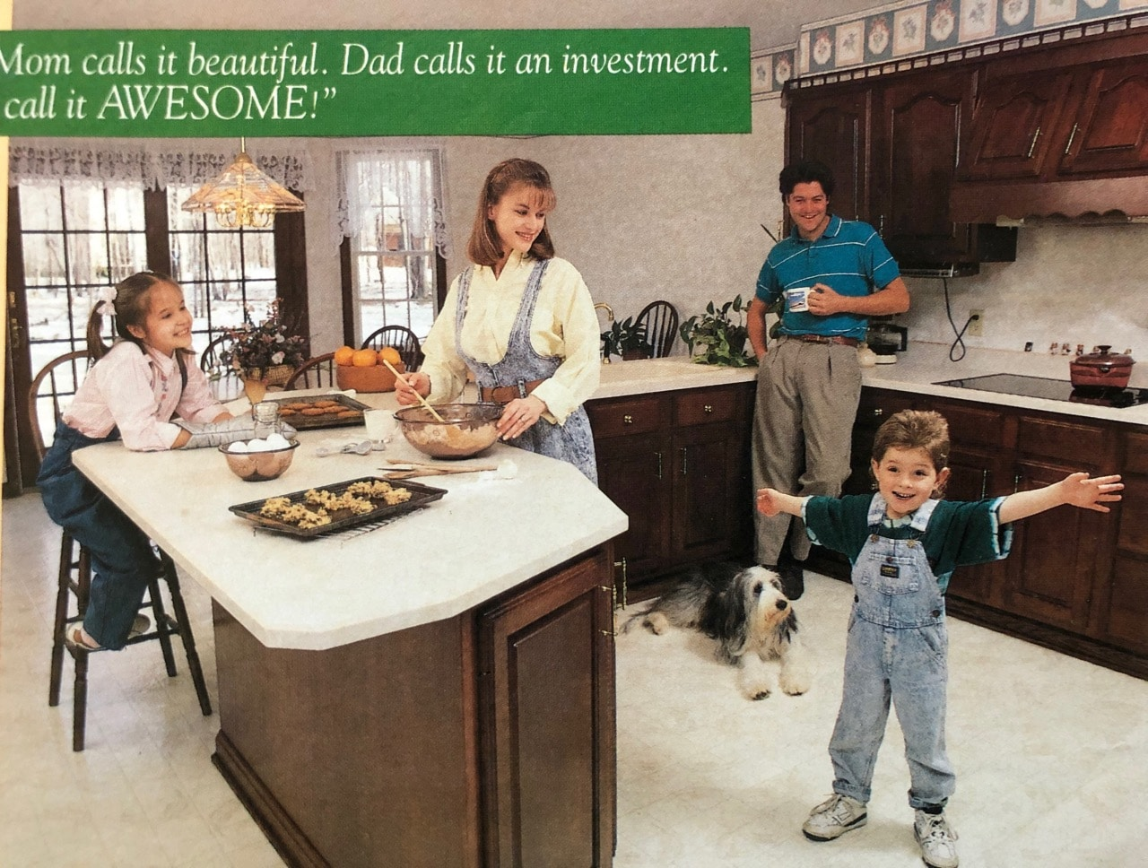Real estate ad in 1990