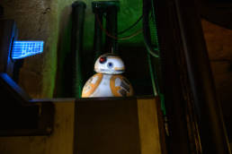 BB8 on the Rise of the Resistance ride