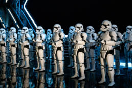 room full of Stormtroopers
