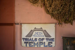 sign for Jedi Training