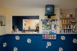 veterinary hospital entrance