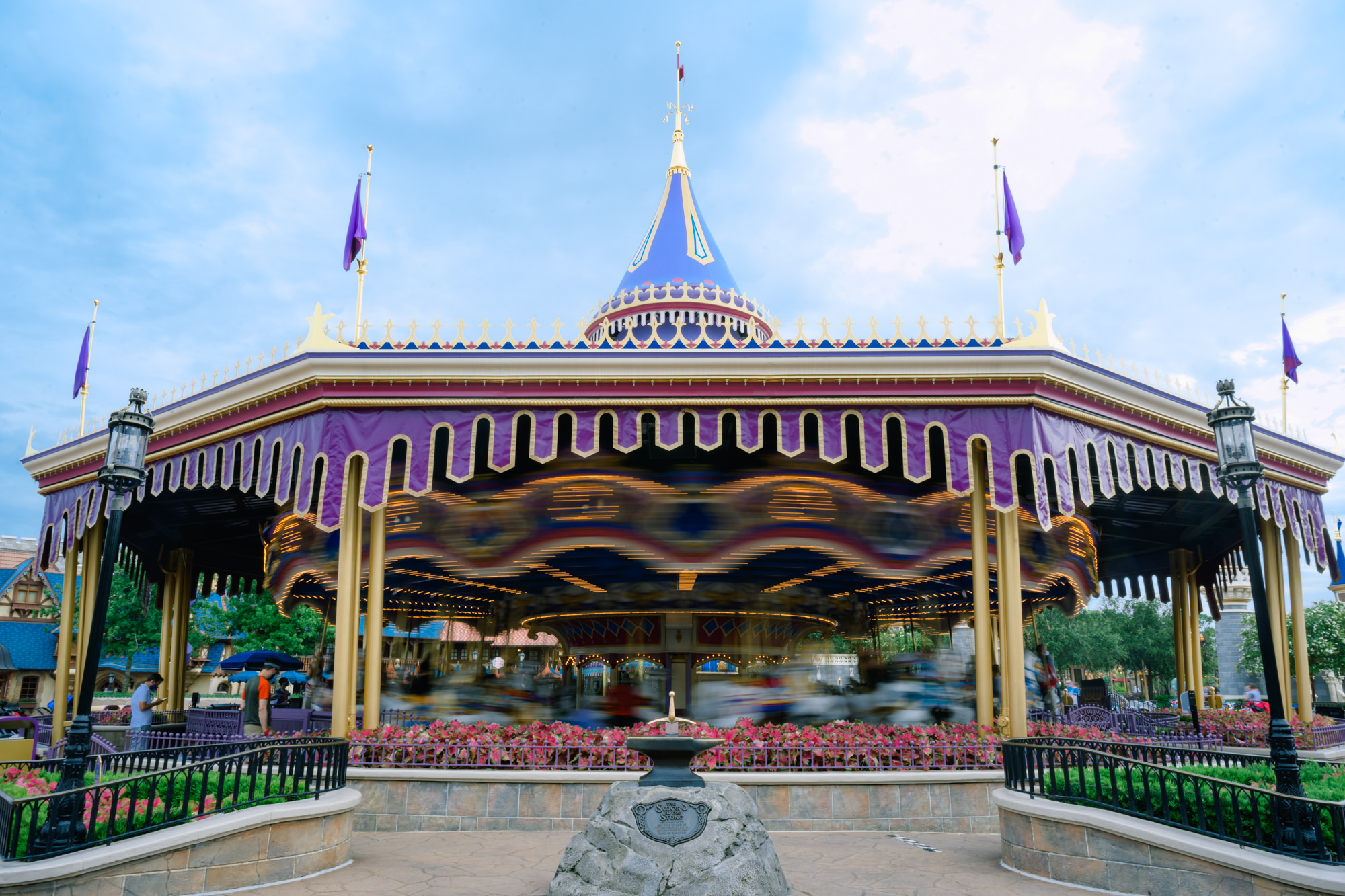 Prince Charming's Carousel in motion