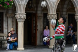 award winning shutter drag juggling image