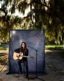 portrait of Layla Brisbois singer-songwriter based in orlando